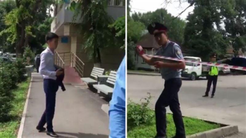 Людей эвакуируют из «заминированных» зданий судов в Алматы