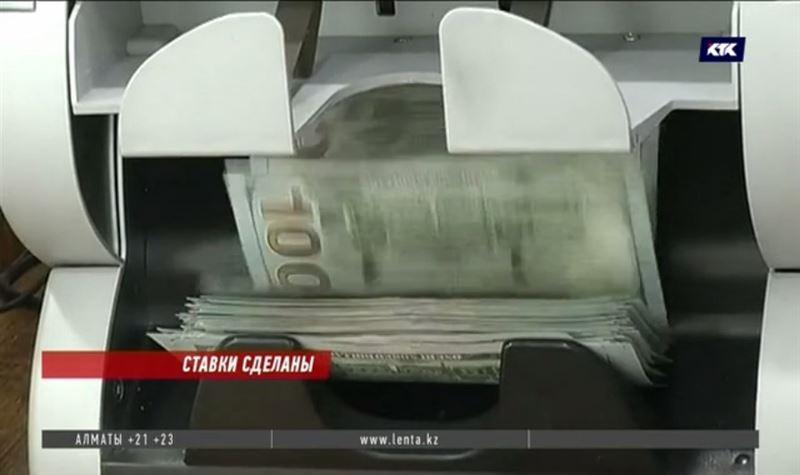Снова подняты ставки по долларовым депозитам