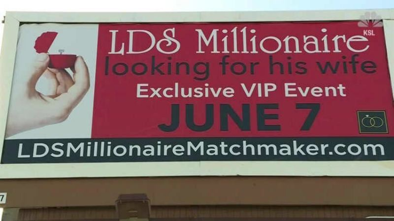 Миллионер көшелерге билборд орнатып, өзіне жар іздеуде