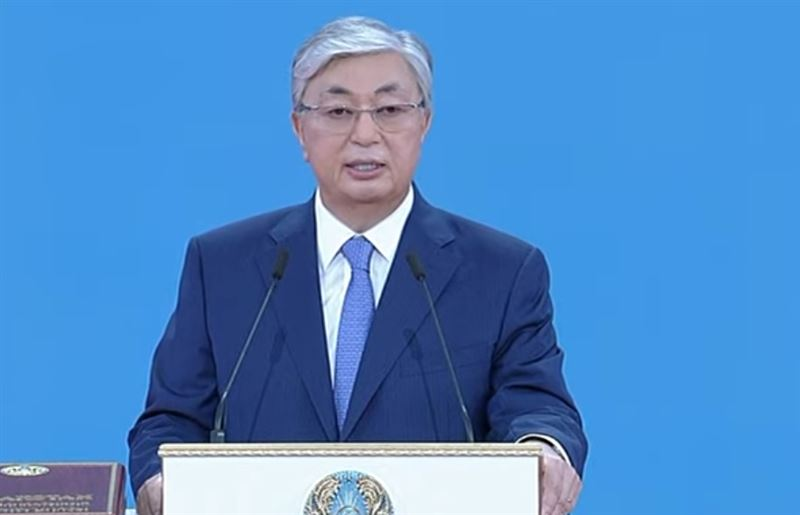 Речь президента Казахстана Касым-Жомарта Токаева на инаугурации