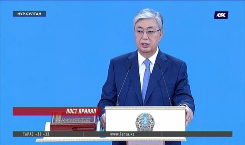 45 шагов до президентства: как прошла инаугурация Касым-Жомарта Токаева