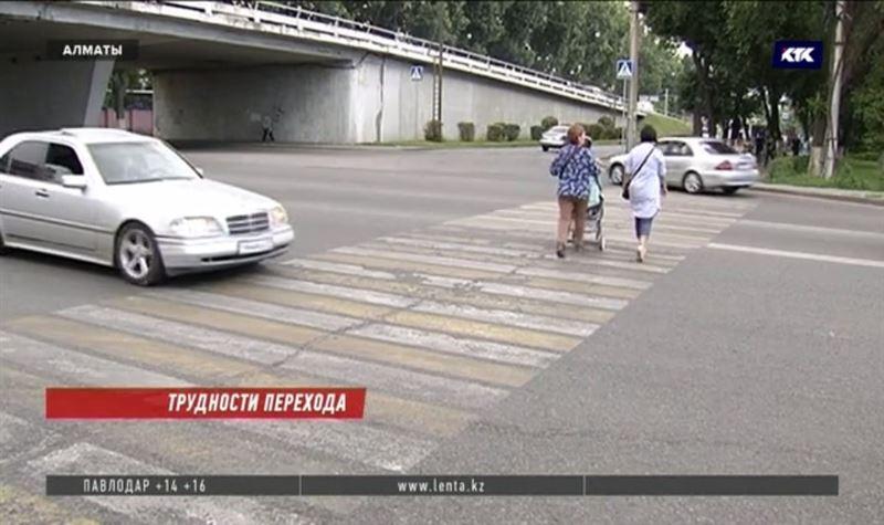 На алматинских дорогах водителей и пешеходов ждут большие перемены