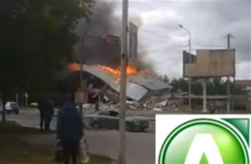 В Костанае произошло ЧП — на АЗС в момент замены газового оборудования взорвался газ