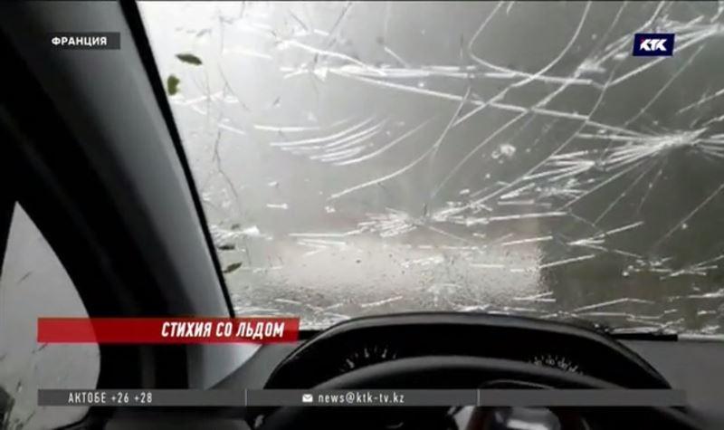 Юго-восток Франции пострадал от града, дождя и ветра