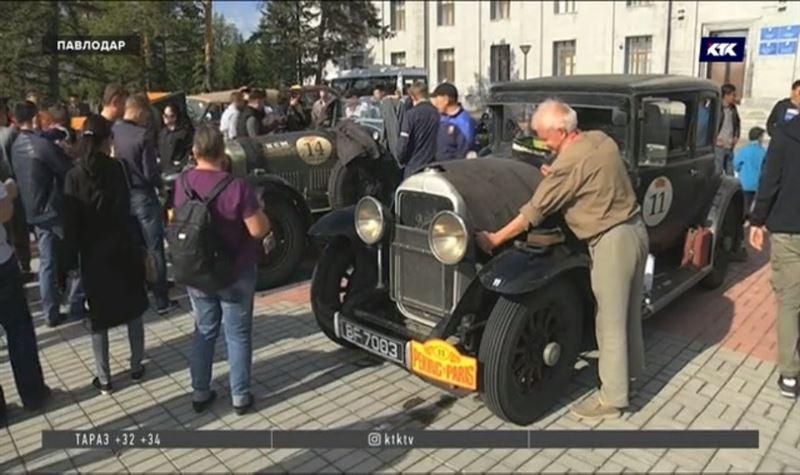 Казахстан впервые принял участников известного ретро-ралли