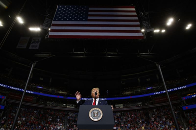 Дональд Трамп примет участие в президентской гонке 2020 года