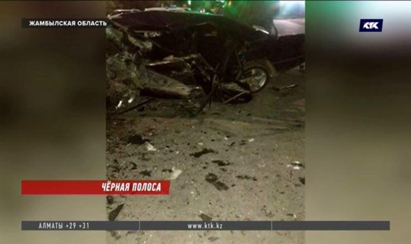 Все погибшие на трассе в Жамбылской области ехали со свадеб