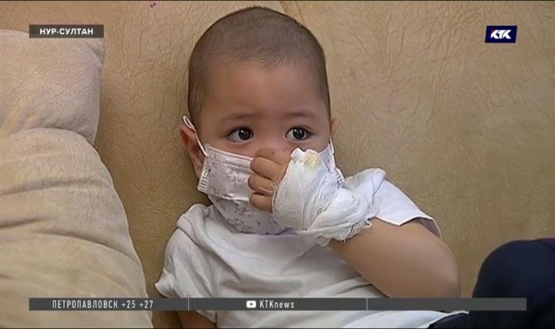 Трёхлетнему ребёнку с 4-й стадией онкологиинужна срочная помощь