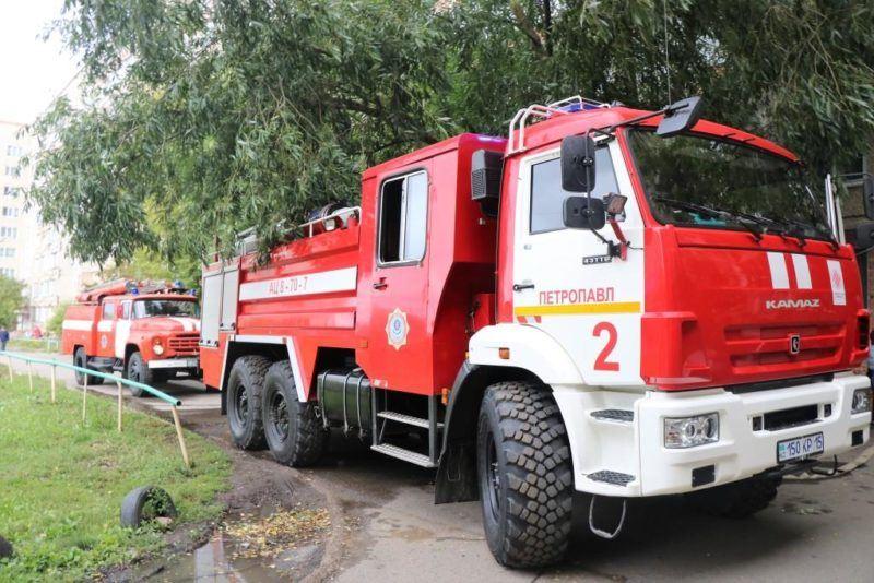 Супруги стали жертвами пожара в пригороде Петропавловска