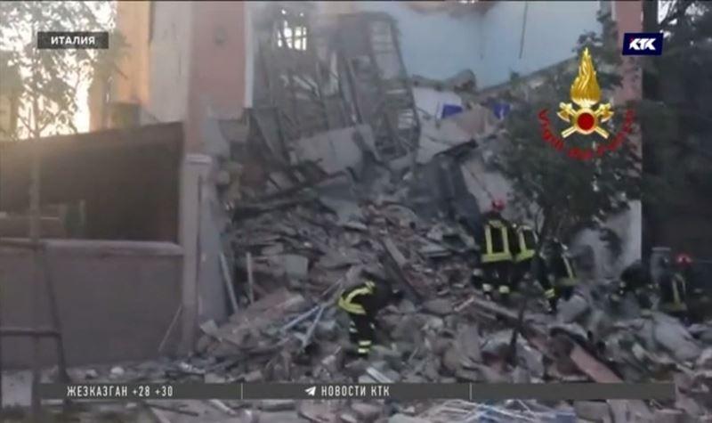 Взрыв бытового газа разрушил дом в Италии, есть жертвы