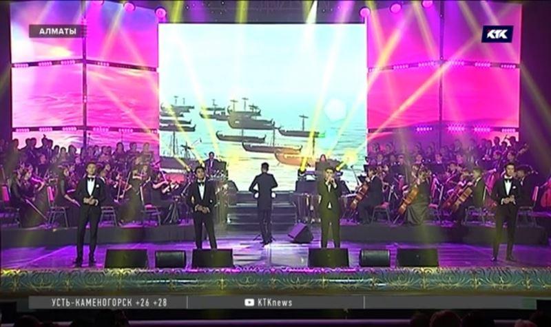 Лауреаты Фонда Первого Президента выступили на концерте вместе с учениками