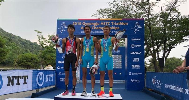 Дарын Конысбаев из Казахстана стал лучшим триатлонистом Азии