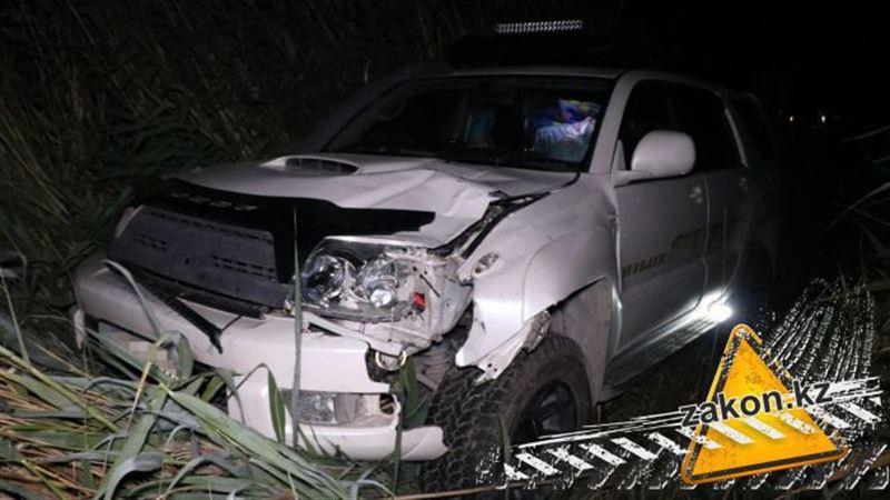 Смертельный наезд на пешехода произошел на Капчагайской трассе