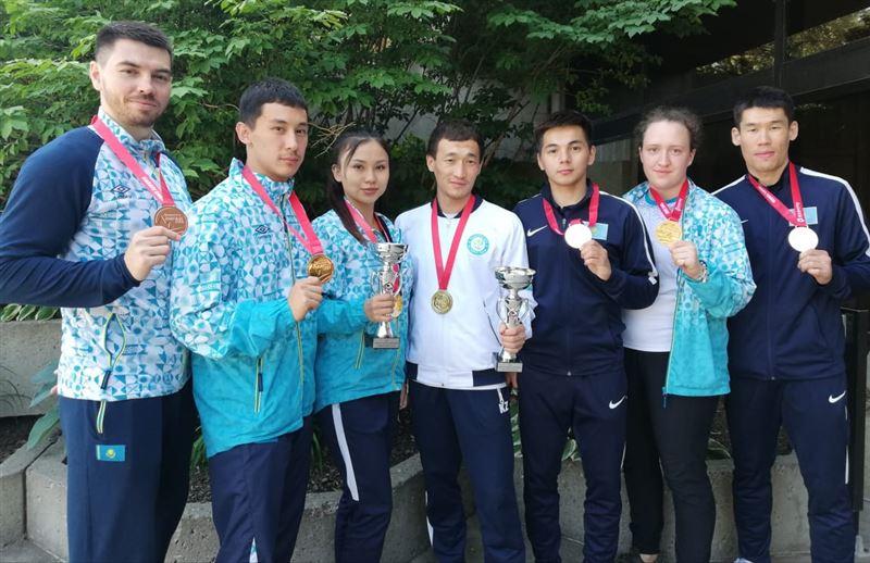 Каратеден Канададағы турнирде 7 отандасымыз медаль алды