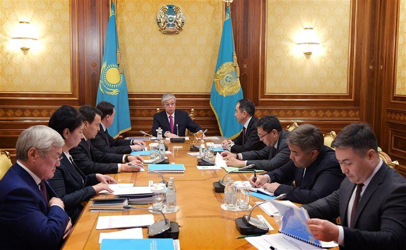 Касым Жомарт Токаев провел совещание по вопросам социальной защиты населения