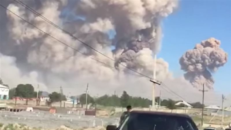 МВД завело уголовное дело по факту взрывов в Арыси