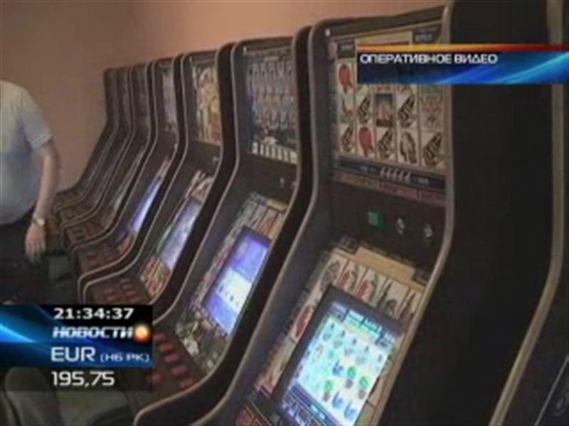 В Астане под видом салона химчистки работало подпольное казино