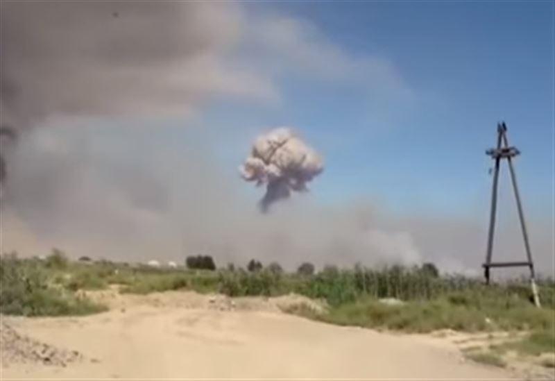 В МВД сообщили о прекращении взрывов в Арыси