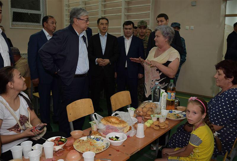 Президент перечислил свой однодневный заработок в фонд пострадавшим в Арыси