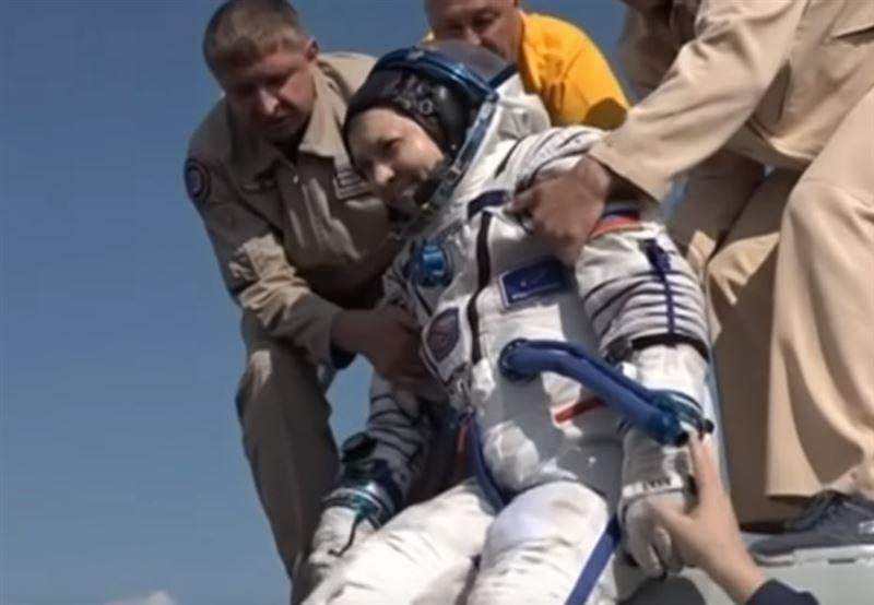 «Союз МС-11» с космонавтами МКС приземлился в Казахстане