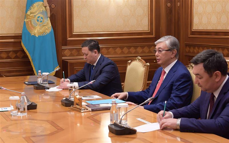 Касым-Жомарт Токаев принял Первого Президента Монголии