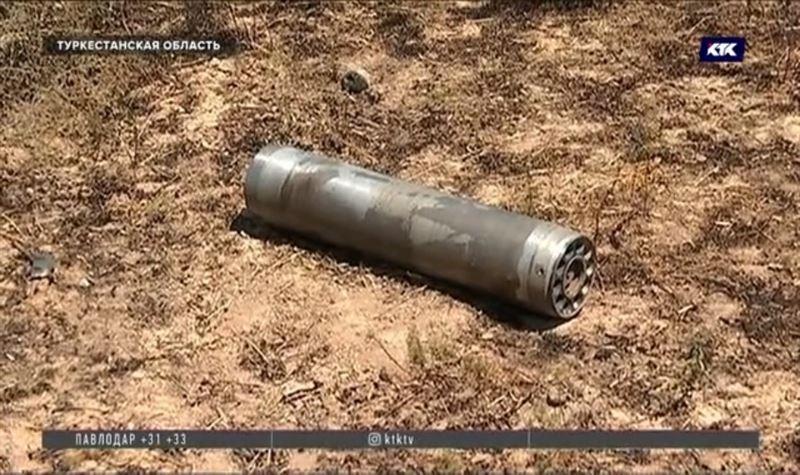 Десятки неразорвавшихся боеприпасов находят в Арыси