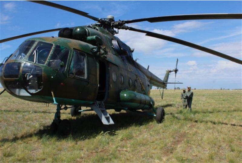 На учебном аэродроме «Хлебодаровка» проводятся учебно-тренировочные полеты курсантов