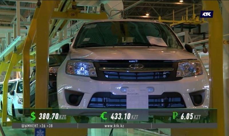 Казахстанские автолюбители предпочитают «Ладу»
