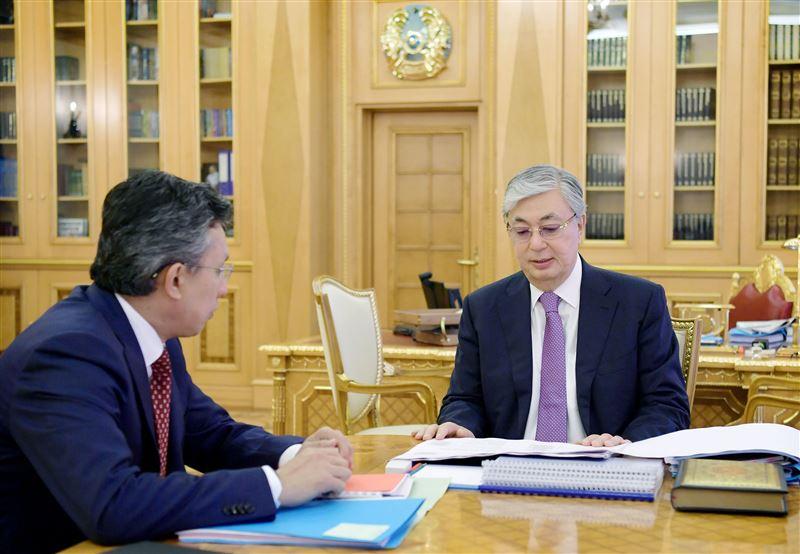 Токаев принял в Акорде министра торговли и интеграции