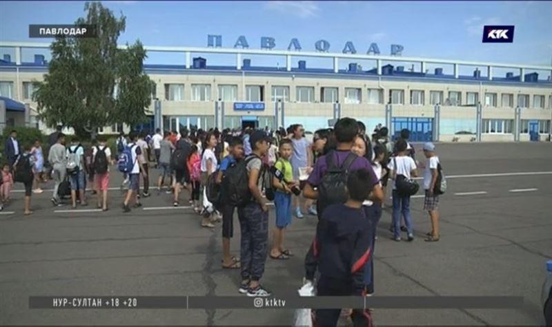 300 детей из Арыси отдохнут в лагерях Павлодарской области