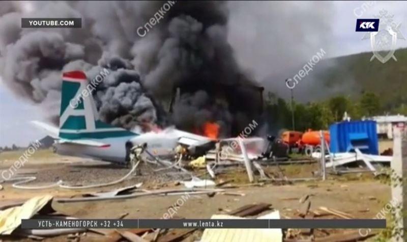 Ан-24 потерпел крушение в Бурятии, погибли пилот и механик