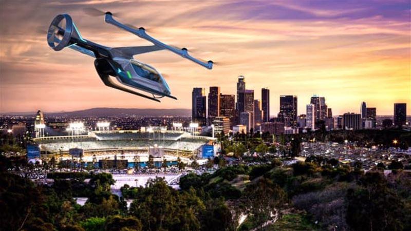 Летающее такси появится в Париже к 2024 году