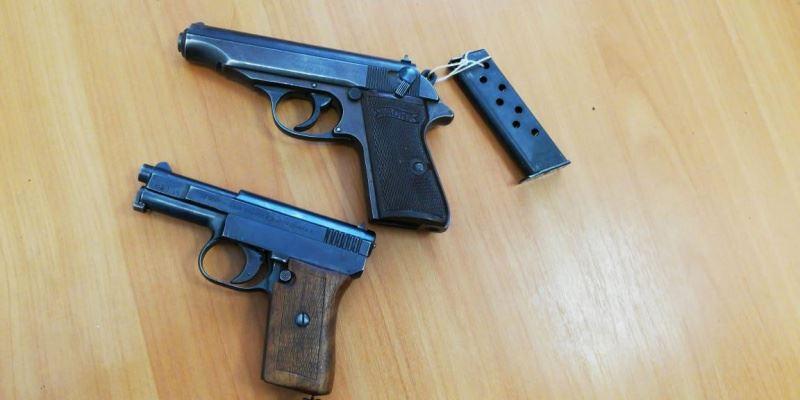 Два раритетных пистолета хранились у жителя Павлодара