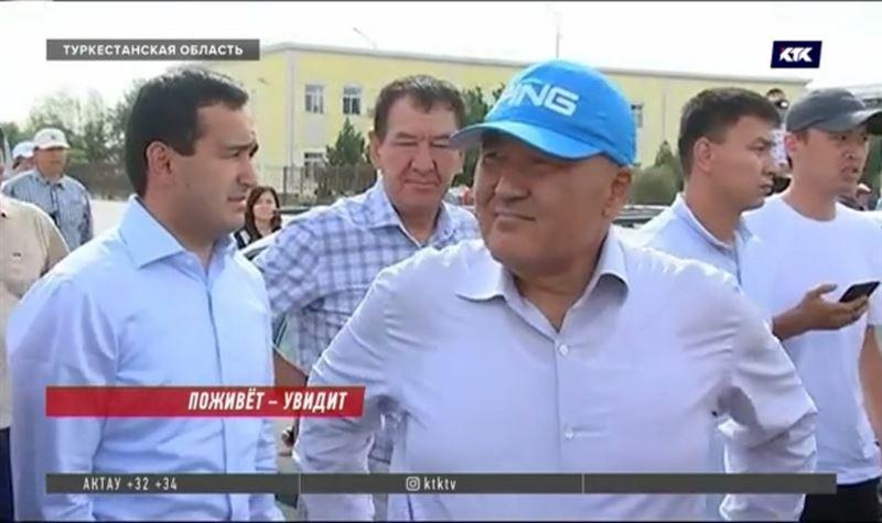 Умирзак Шукеев пообещал месяц жить в Арыси
