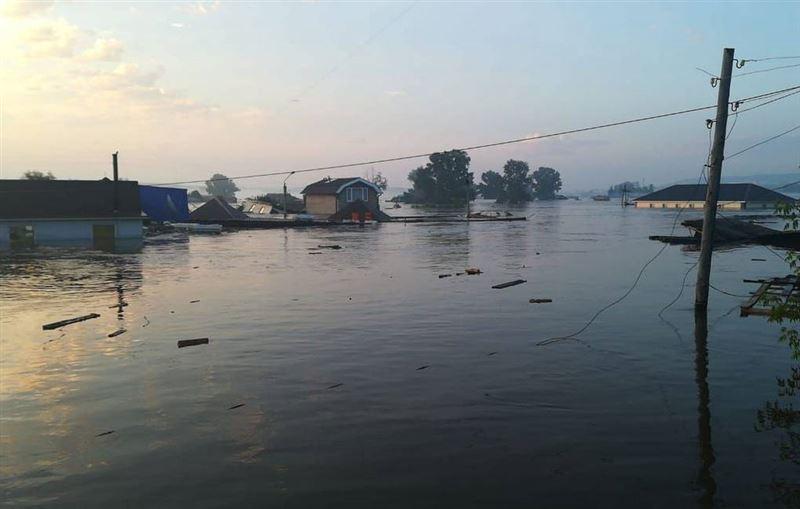 Ресейде су тасқыны болып, 22 мың адам жарықсыз қалды