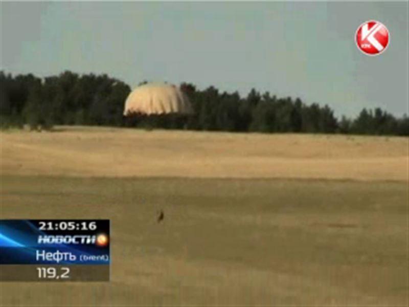 В Степногорске во время прыжков с парашютом произошла трагедия
