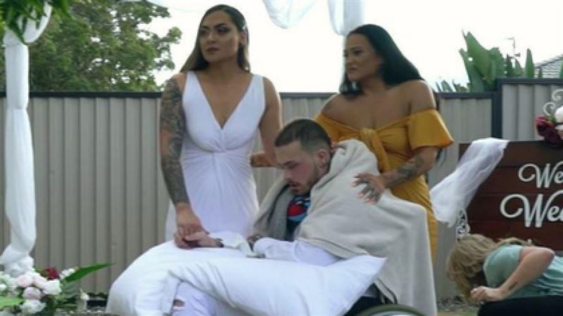 Австралиец женился за день до смерти