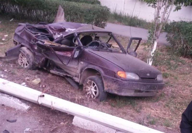 Жених и невеста попали в жуткую аварию в Житикаре