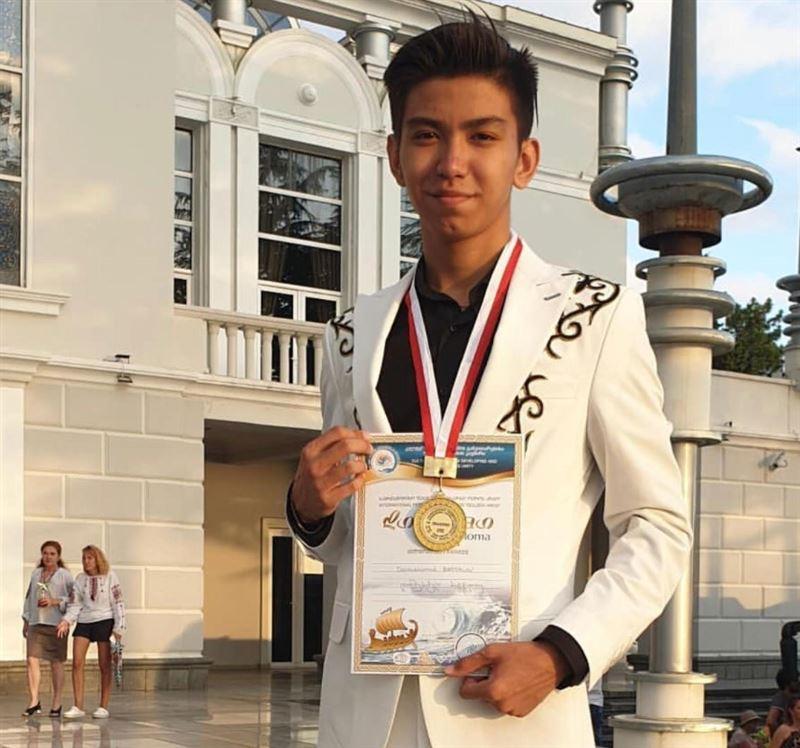 Алматылық оқушы Грузиядағы халықаралық байқауда Гран-при жеңіп алды