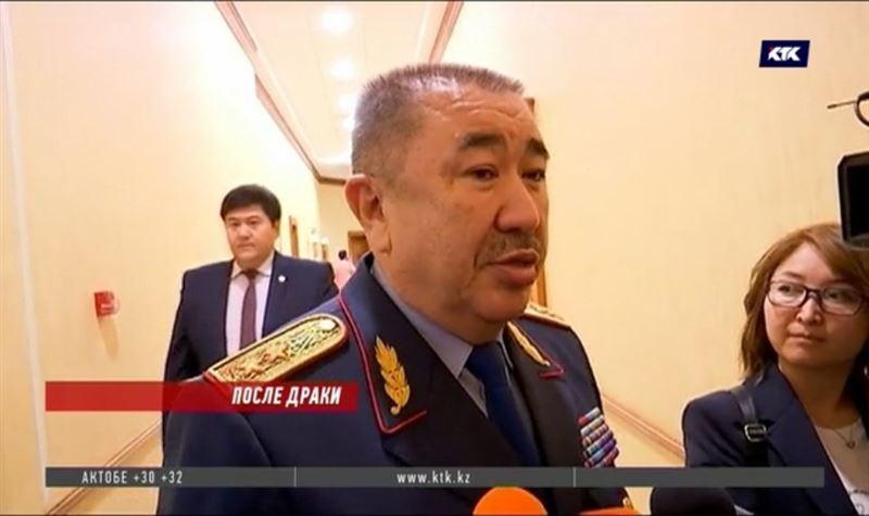 МВД: У зачинщика беспорядков на Тенгизе есть соучастники