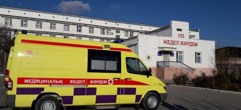 Авария с участием карет скорой помощи произошла в Актау