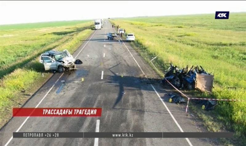 Жантүршігерлік жол апатынан 6 адам мерт болды