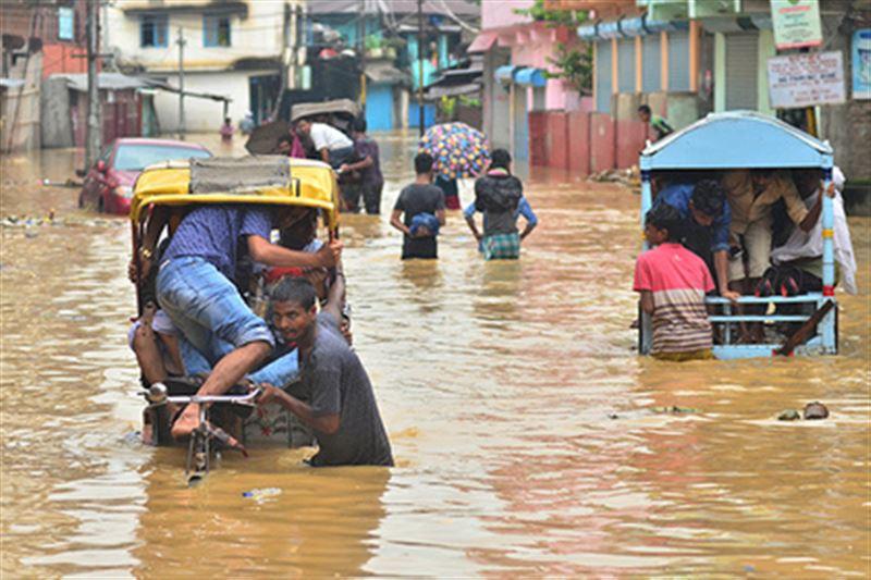 63 тысячи человек пострадали от наводнений в Индии