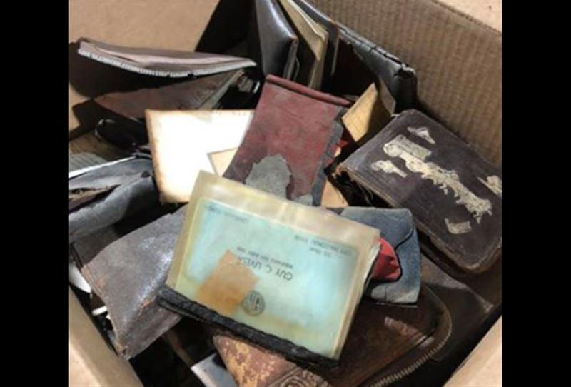 Женщине вернули кошелек, украденный 75 лет назад