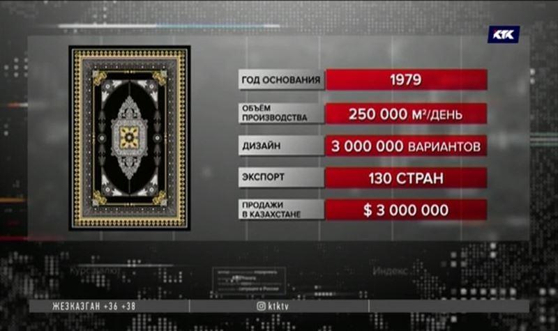 Крупнейший производитель ковров может открыть фабрику в Казахстане