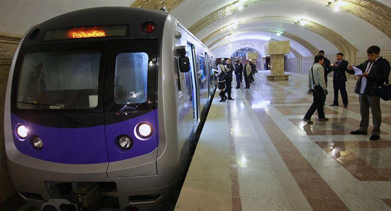 Алматыда метро жұмысын тоқтатты