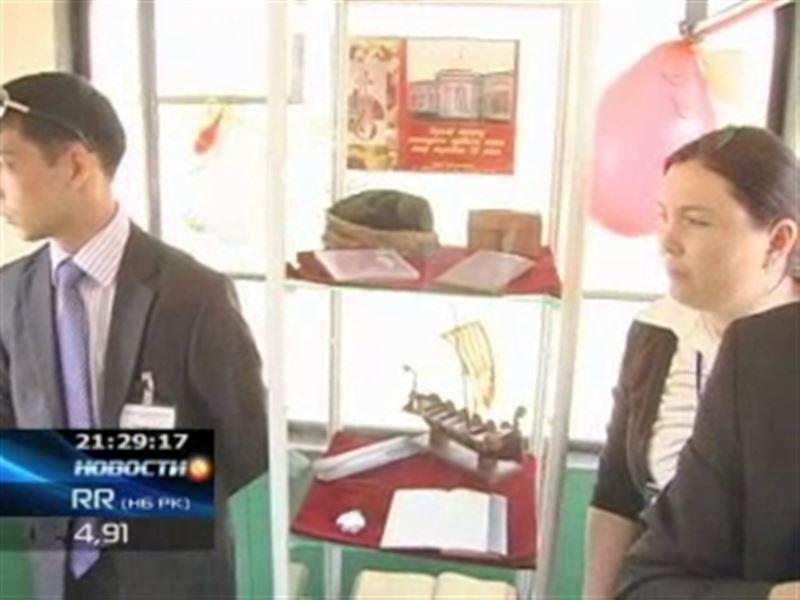 В Павлодаре появился музей на колесах