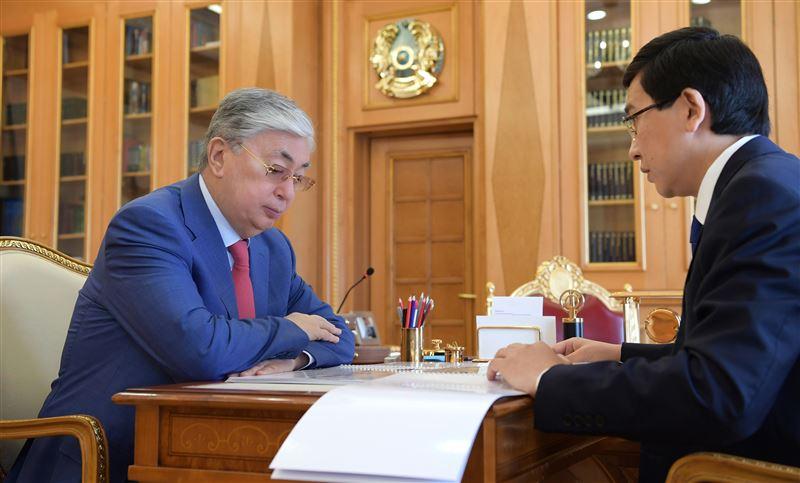 Касым-Жомарт Токаев принял министра образования и науки