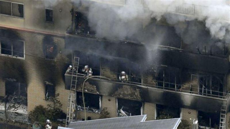 Жертвами пожара в японской аниме-студии стали 24 человека