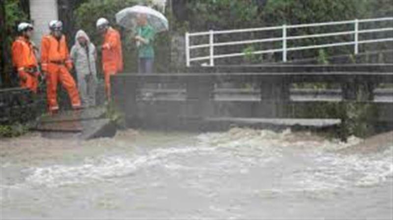 В Японии более 110 тысяч человек эвакуировали из-за ливневых дождей